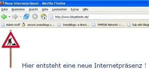 blog4berlin.de: Hier entsteht eine neue Internetpräsenz!